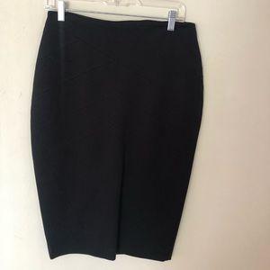Black Express Pencil Skirt Size 8